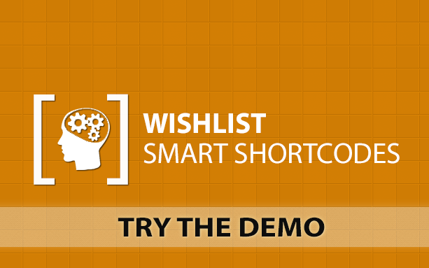 Wishlist Smart Shortcodes - Demo